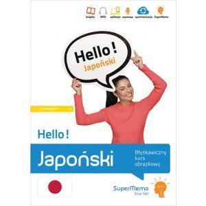 Hello! Japoński. Błyskawiczny kurs obrazkowy. Poziom A1