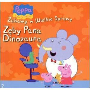 Świnka Peppa Zęby Pana Dinozaura