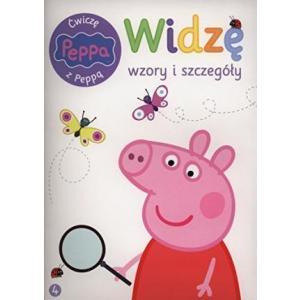 Peppa Pig. Ćwiczę z Peppą. Widzę wzory i szczegóły
