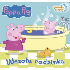 Peppa Pig. Wesoła kąpiel. Wesoła rodzinka