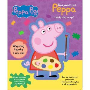Peppa Pig Nazywam się Peppa Lubię się Uczyć