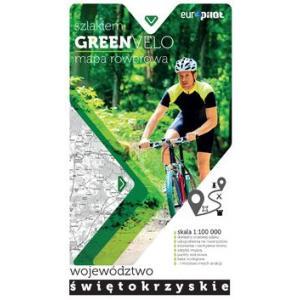 Szlakiem GreenVelo mapa rowerowa Województwo świętokrzyskie