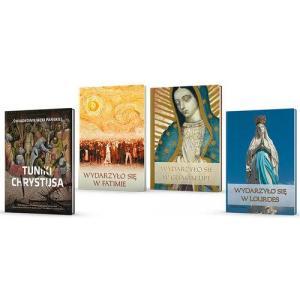 Sanktuaria Maryjne Wydarzyło się...w Fatimie /Częstochowie /Guadalupe /Tuniki Chrystusa