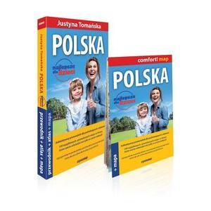 Polska. Najlepsze dla dzieci Przewodnik + atlas + mapa