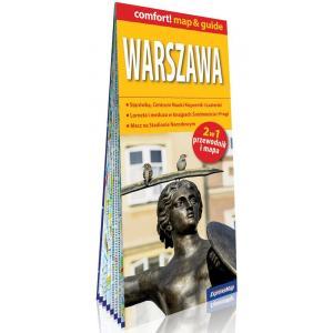 Mapa Warszawa 2w1: przewodnik i mapa