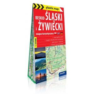 Beskid Śląski i Żywiecki. Foliowana mapa turystyczna 1:50 000