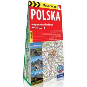 Polska. Foliowana mapa samochodowa 1:700 000