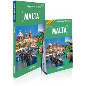 Malta light przewodnik + mapa