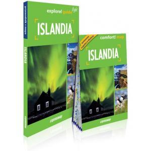 Islandia light przewodnik + mapa