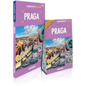 Praga light przewodnik + mapa