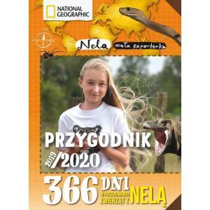 Nela Mała Reporterka. Przygodnik 2019/2020. 365 Dni w Poszukiwaniu Groźnych Zwierząt z Nelą