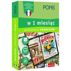 Francuski w 1 Miesiąc. Ekstrapakiet z 3 Tablicami Językowymi i Kursem Online