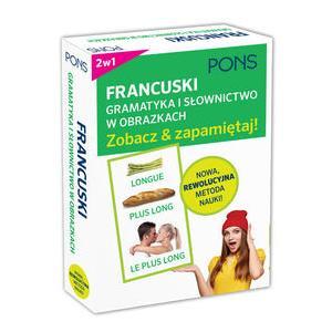 PONS Gramatyka i słownictwo francuskie w obrazkach Zobacz i zapamiętaj!