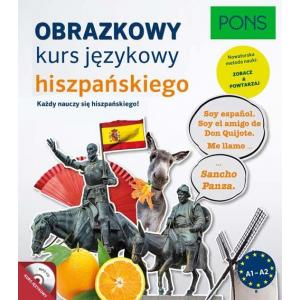 Obrazkowy Kurs Językowy Hiszpańskego A1-A2