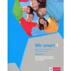 Wir Smart 1. Język Niemiecki. Klasa 4.  Ćwiczenia Wersja Rozszerzona. Szkoła Podstawowa