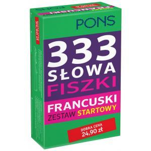 PONS 333 Słowa Fiszki Francuski Zestaw startowy