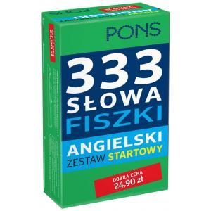 333 Słowa Fiszki Angielski. Zestaw Startowy