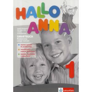 Hallo Anna 1. Smartbuch.  Rozszerzony Zeszyt Ćwiczeń z Interaktywnymi Zadaniami Dodatkowymi