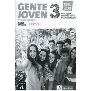 Gente Joven 3. Nueva Edicion. Zeszyt Ćwiczeń (Materiał Ćwiczeniowy). Wydanie Szkolne