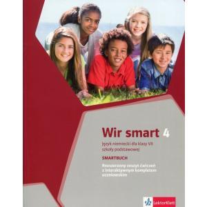 Wir Smart 4. Ćwiczenia Wersja Rozszerzona. Język Niemiecki. Klasa 7. Szkoła Podstawowa