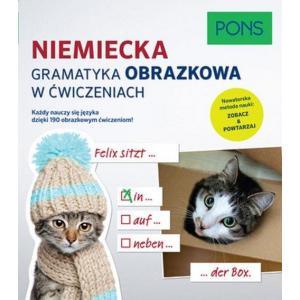 PONS Niemiecka gramatyka obrazkowa w ćwiczeniach.
