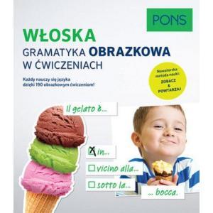 PONS Włoska gramatyka obrazkowa w ćwiczeniach.