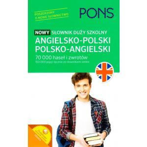Nowy Słownik Duży Szkolny Angielsko-Polsko-Angielski
