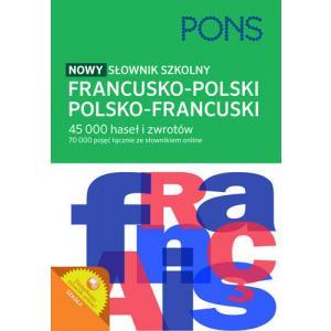 PONS Nowy słownik szkolny francusko-polski, polsko-francuski