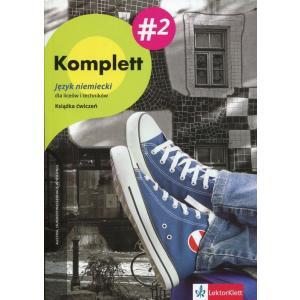 Komplett 2. Język Niemiecki. Ćwiczenia + CD + DVD. Szkoła Ponadgimnazjalna