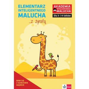 Akademia Inteligentnego Malucha. Elementarz inteligentnego malucha z żyrafą