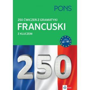 250 ćwiczeń z gramatyki. Francuski z kluczem. Wyd.2