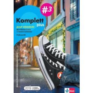 Komplett plus 3. Język niemiecki. Liceum i technikum. Podręcznik