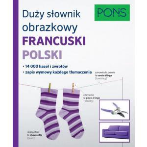 Duży Słownik Obrazkowy Francuski-Polski