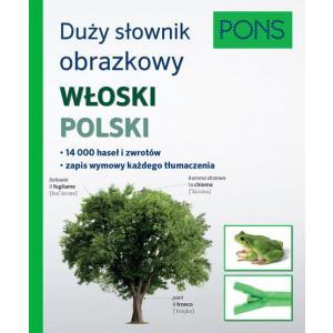 Duży Słownik Obrazkowy Włoski-Polski