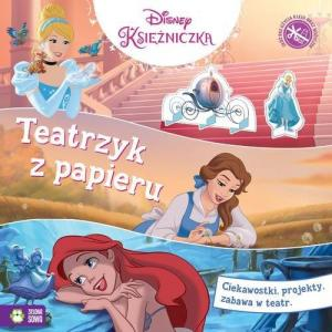Teatrzyk z papieru. Disney Księżniczki