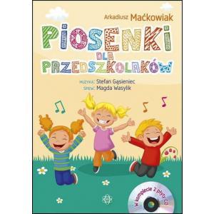 Piosenki dla przedszkolaków Książka + CD