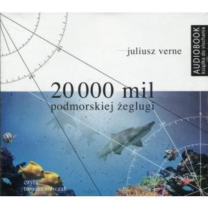 20 000 mil podmorskiej żeglugi (Audiobook) (CD-MP3)