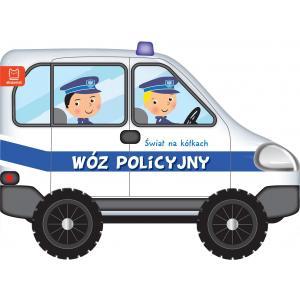 Świat na kółkach Wóz policyjny (książeczka z kółkami)