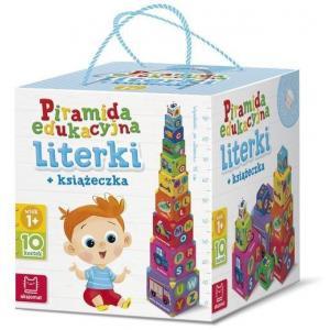 Piramida edukacyjna. Literki + książeczka