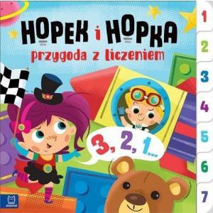 Hopek i Hopka -przygoda z liczeniem.Interaktywna książeczka dla dzieci