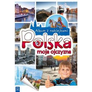 Albm z Naklejkami Polska Moja Ojczyzna