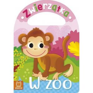 Książeczka kąpielowa. Zwierzątka w zoo