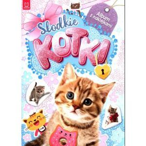 Słodkie kotki. Album z naklejkami