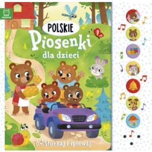 Polskie piosenki dla dzieci. Słuchaj i śpiewaj