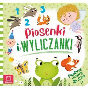 Piosenki i wyliczanki.Popularne utwory dla dzieci