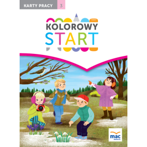 Kolorowy Start 5 i 6-Latki. Karty Pracy Część 3