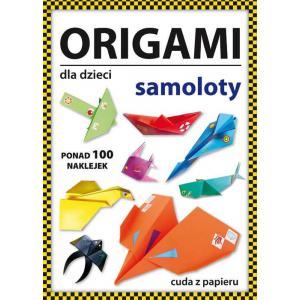 Origami dla dzieci Samoloty