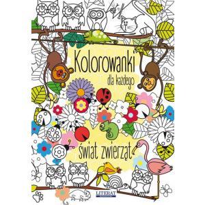 Kolorowanki dla każdego Świat zwierząt