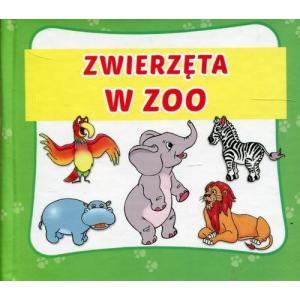 Zwierzęta w ZOO. Książeczka harmonijkowa
