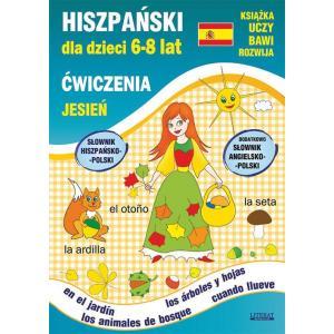 Hiszpański dla Dzieci 6-8 Lat. Ćwiczenia. Jesień